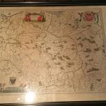 RARE 1630'S POLISH MAP