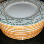 (12) Berkeley Plates (Royal Doulton) 8""