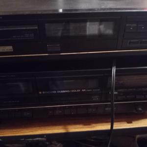 Photo of Vintage stereo system