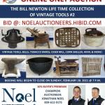 Online Only Auction The Bill Newton Life Time Collection of Vintage Tools #2