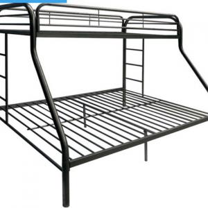 Photo of Dhp twin to full bunk bed dark grey