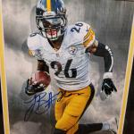 Le'Veon Bell Autographed Framed Photo!