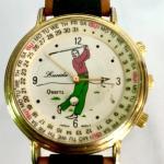 Vintage Lucida Golfer Watch