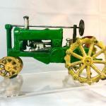 Cast Iron John Deere Tractor Model