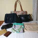 Assortment of Handbags and Wallets