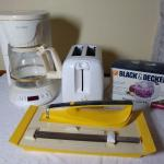 Group of Small Appliances
