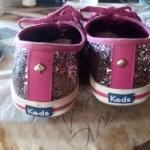 Kate Spade multicolor glitter Keds size 8