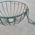 """Lot 242: 13.5"""" x 8.5"""" Hanging Garden Basket"""