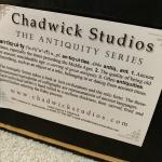 A Darren J Chadwick original