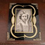Framed picture of Shirley Temple
