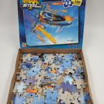 MAX STEELE MX25 ATTACK JET PUZZLE