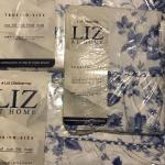 Liz Claiborne Coming Up Roses Cornflower Blue