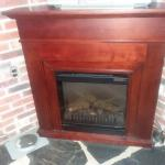 Dimplex Compact Mantle & Media Fireplace