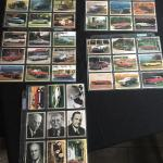 Collection of Vintage Car Cards with Famous Founders