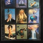 Full Sheet of BIZARRE Surrealism Collector Cards
