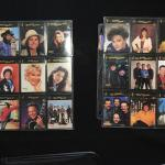 2 Sheets of Country Music Stars Trading Cards
