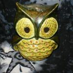 Green Owl Tea Light Candle Cover