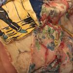 Unfinished quilt -