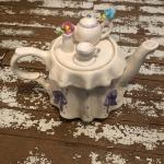 Teleflora tea pot