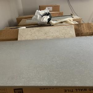 Photo of Brand new 24x12 premium porcelain tiles.