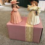 Lot of 14 Maud Humphrey Bogart figurines