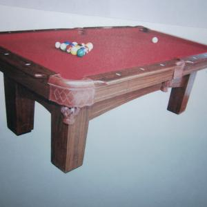 Photo of Standard American Pool Table