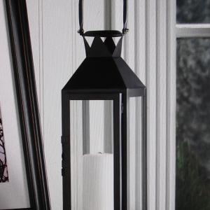 Photo of Black Manhattan Candle Lantern