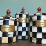Lot 123:  MacKenIe-Child's Canisters
