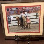 Lot 8 – framed rodeo print