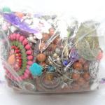 Costume & Craft Jewelry Bag  Lot #1