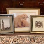 Lot 5 - 3 framed pictures