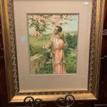 Lot 6-vintage framed picture