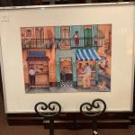 Lot 12-framed Casa Oscar 20 x 16 Signed print