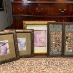 Lot 4  - 5 framed pictures