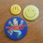 McNugget Mania and Smiley Pins