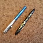 Two Vintage Fountain Pens
