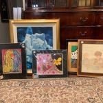 Lot 1 - bunch of artwork