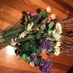 Lot 11:  Faux Flowers