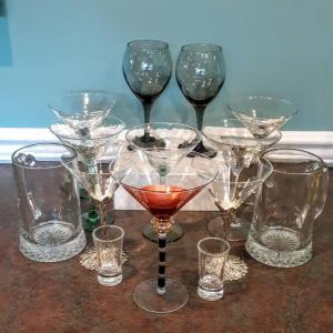 Photo of Lot 175: drinking glasses