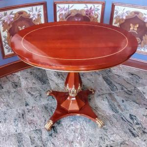 Photo of Lot 197: MCM John Widdicomb Oval table