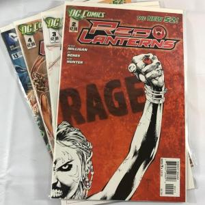 Photo of DC Comics - The New 52! - The Red Lanterns
