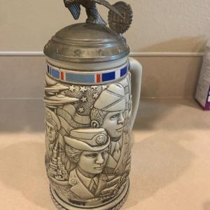 Photo of Vintage armed forces beer stein