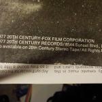 ":Star Wars double album 1977 original""."