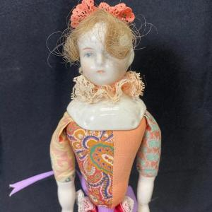 Photo of China Head Doll Clown Jester Stick Puppet YD#020-1220-01312