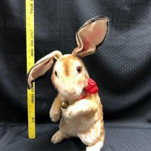 Photo of Vintage STEIFF Easter Bunny Rabbit Plush