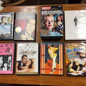 Photo of Classic DVD lot of old movies