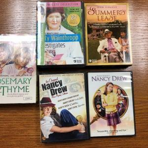 Photo of Set of 5 DVD's