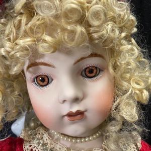 "Photo of 2001 Patricia Loveless 29"" Bru Jn Repro Doll Limited #254/2000"