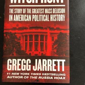Photo of WITCH HUNT by Gregg Jarrett Hardback Book (B)