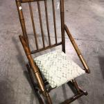Vintage Wooden Rocking Rocker Chair (item #121)